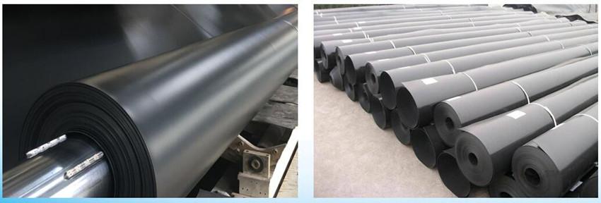 China HDPE Textured Geomembrane Plastic Fish Ponds Liner 1